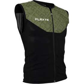 Flaxta Behold Back Protector Vest Men dust green pattern